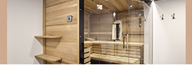 sauna element modul top